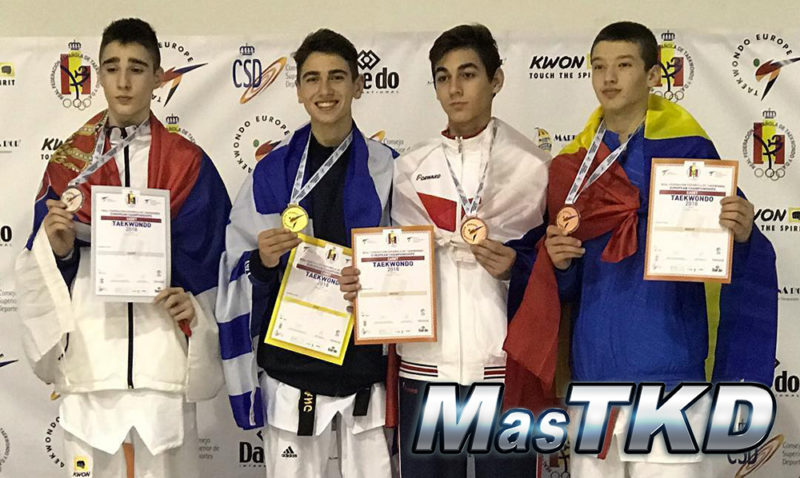 Podio_Europeo-Taekwondo-Cadete_LIGHT-MIDDLE-Masculino_-57-Kg
