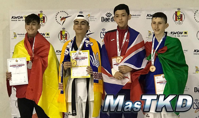 Podio_Europeo-Taekwondo-Cadete_LIGHT-Masculino_-49-Kg