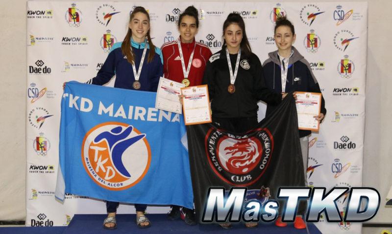 Podio_Euraopeo-Taekwondo-Clubs-Senior_