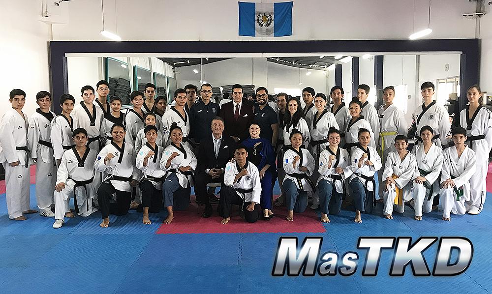Secretario General de WT, Hoss Rafaty, visita Guatemala con mensaje para sus atletas