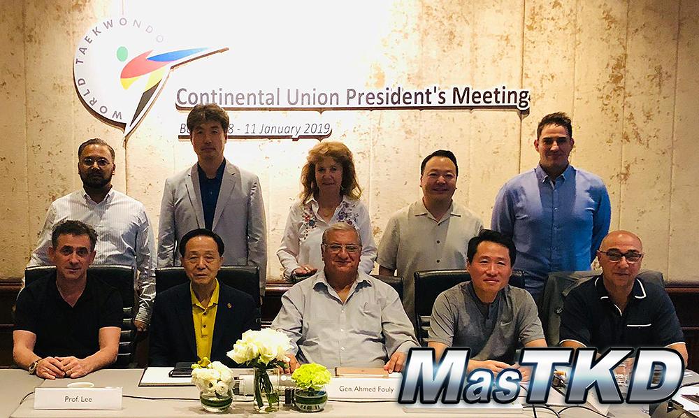 Uniones Continental escriben capítulo histórico con reunión en Bangkok