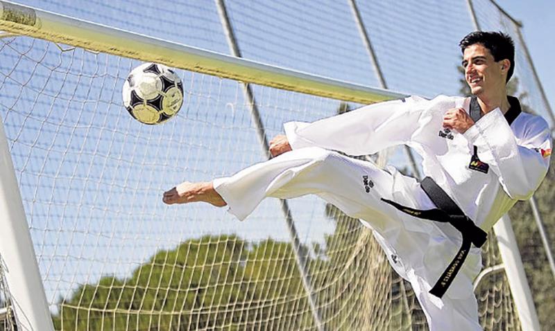 El Taekwondo nunca será mejor que el fútbol