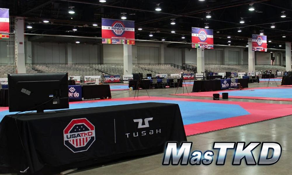 """[En Vivo] Transmisión """"Día 1"""" del US Open Taekwondo 2019"""