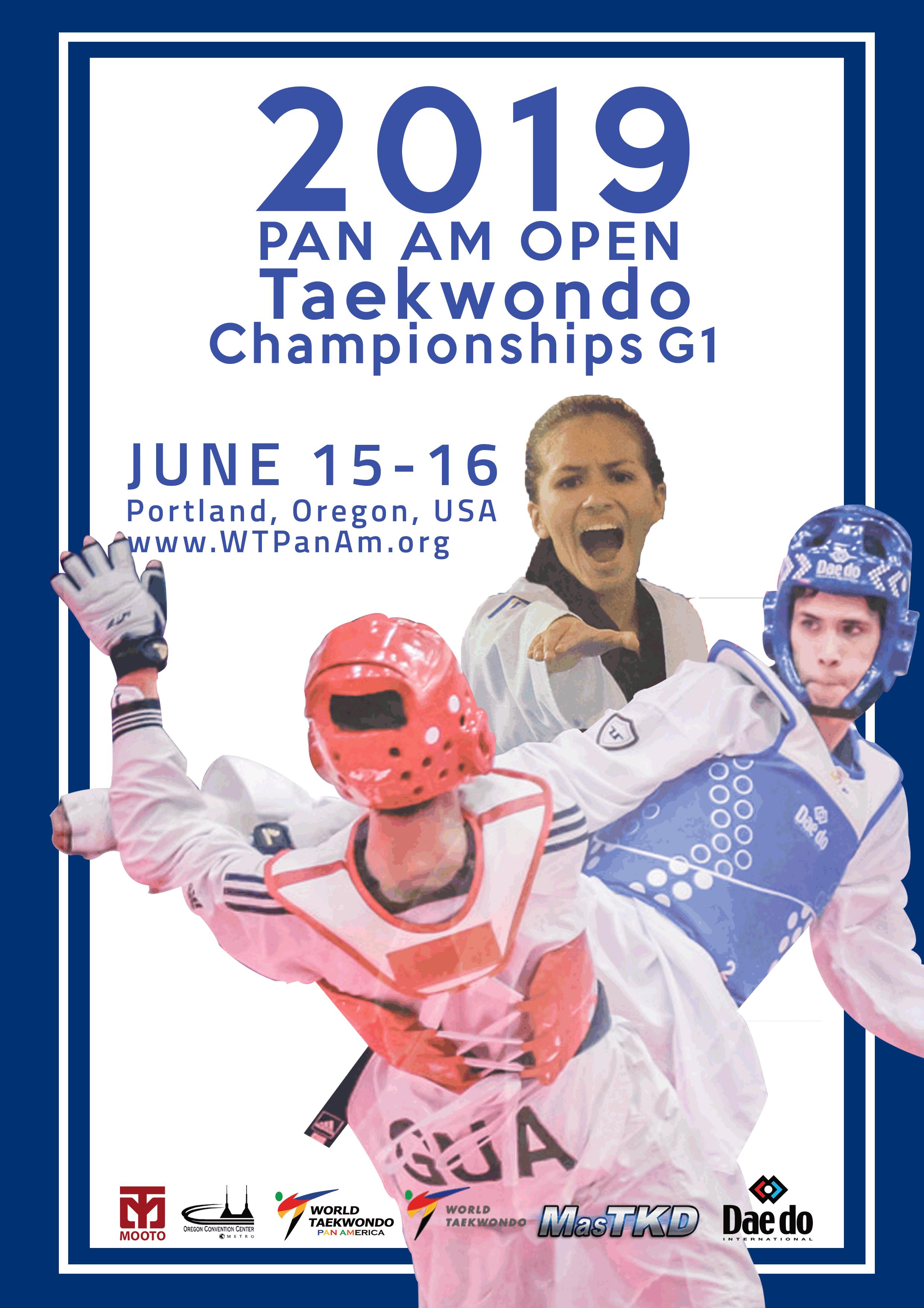 OPEN-PANAMERICANO - Portland 2019