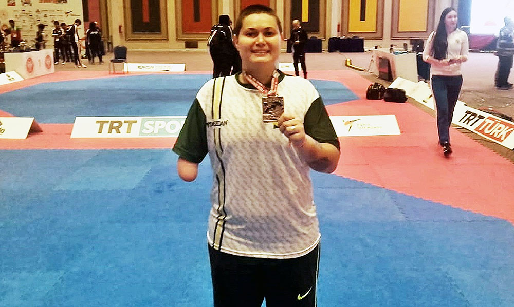 Para-Taekwondo do Brasil entre os melhores do Mundo
