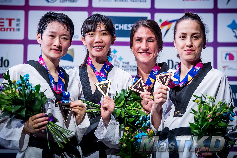 Podium_F-49_Manchester-2019-World-Taekwondo-Championships_mT-