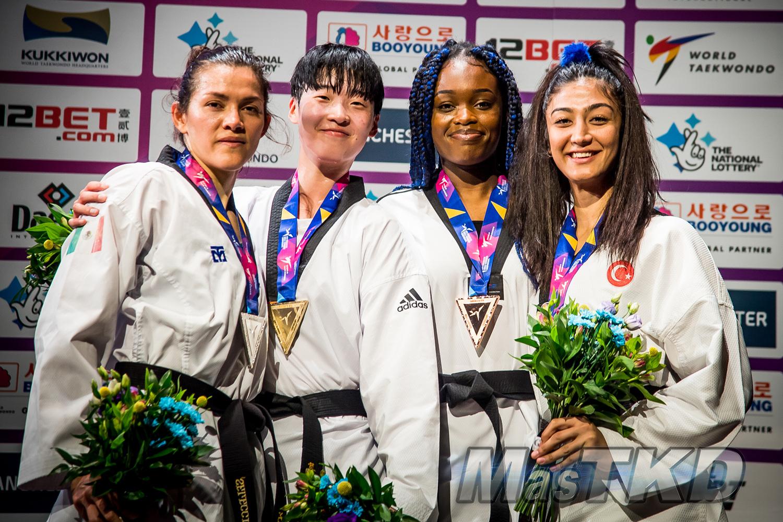Podium_F-73_Manchester-2019-World-Taekwondo-Championships_mT