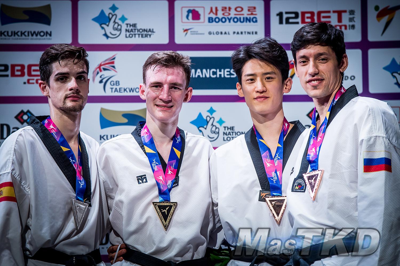 Podium_M-68_Manchester-2019-World-Taekwondo-Championships_mT