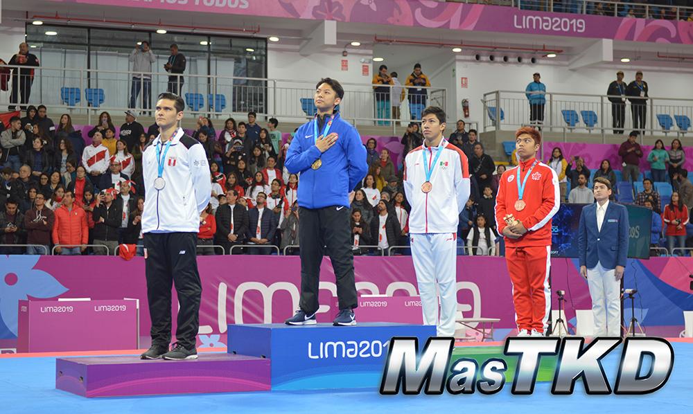 Podio-Poomsae-Individual-Masculino_Taekwondo-Juegos-Panamericanos-Lima-2019
