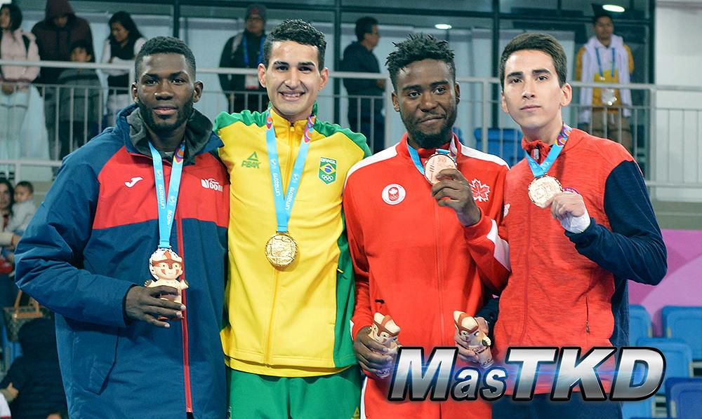20190728_Podio-Kyorugi-FEATHER-Masculino-68kg_Taekwondo-Juegos-Panamericanos-Lima-2019