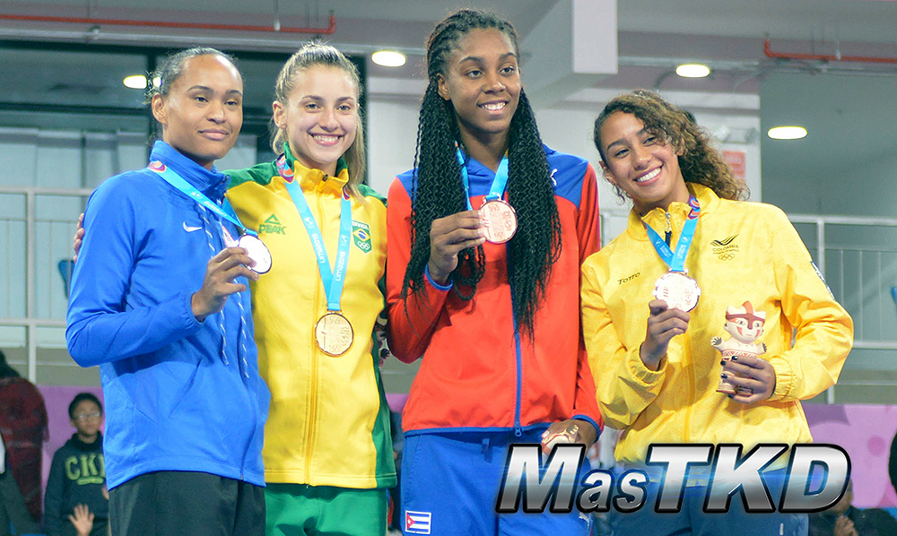 Podio-Kyorugi-WELTER-Femenino-67kg_Taekwondo-Juegos-Panamericanos-Lima-2019