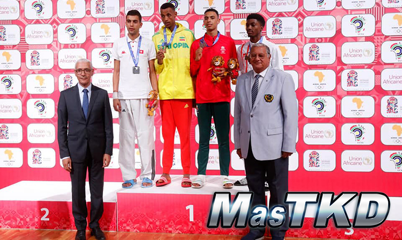 Juegos-Africanos-Rabat-2019_Taekwondo_podio