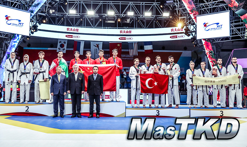 Podio_Equipo-Mixto_Wuxi-2019-WT-World-Cup-Team-Championships
