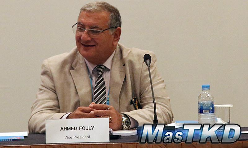 """General Ahmed Fouly: """"África es cada vez más fuerte"""""""
