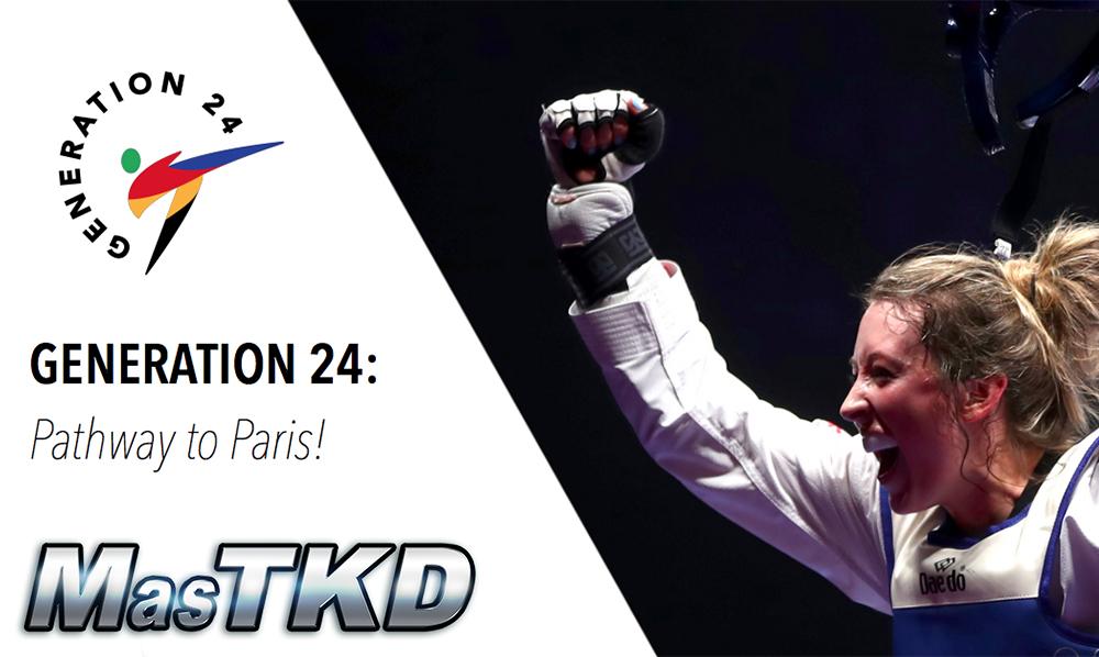 "World Taekwondo Europe lanza ""Generation 24"""