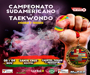 Taekwondo_Sudamericano_Bolivia_Banner
