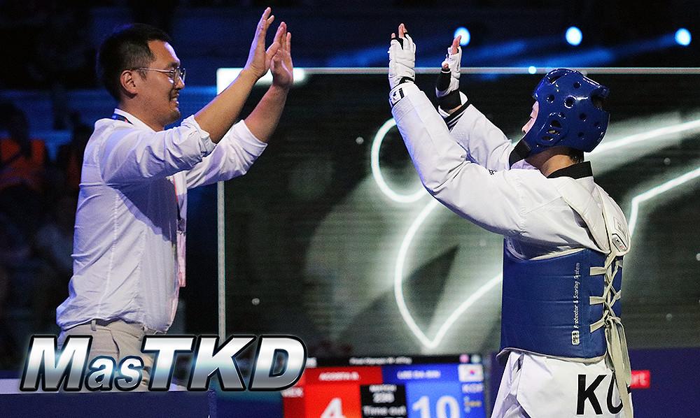 Entrenadores y Maestros de Taekwondo