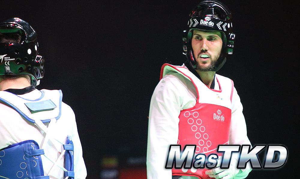 Raúl Martínez, de España, en el Grand Prix Final de Moscú 2019. Foto: Claudio Aranda/MasTKD.com