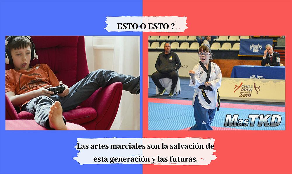 Las artes marciales son la salvación de esta y las futuras generaciones