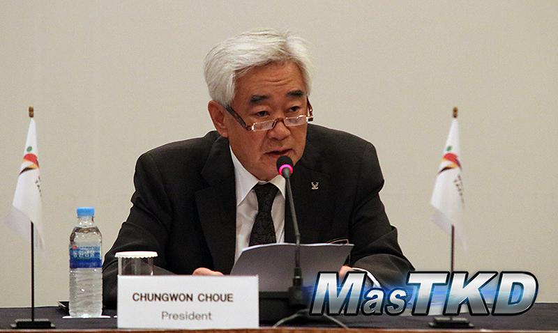 Chungwon Choue se refirió al brote de coronavirus (COVID-19)