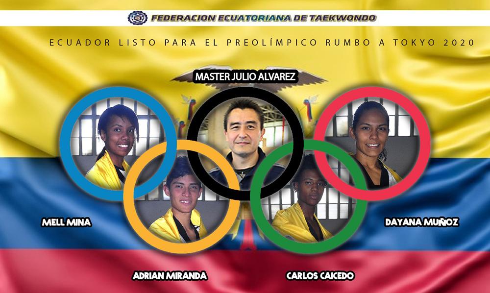 Ecuador se enfoca en la clasificación olímpica