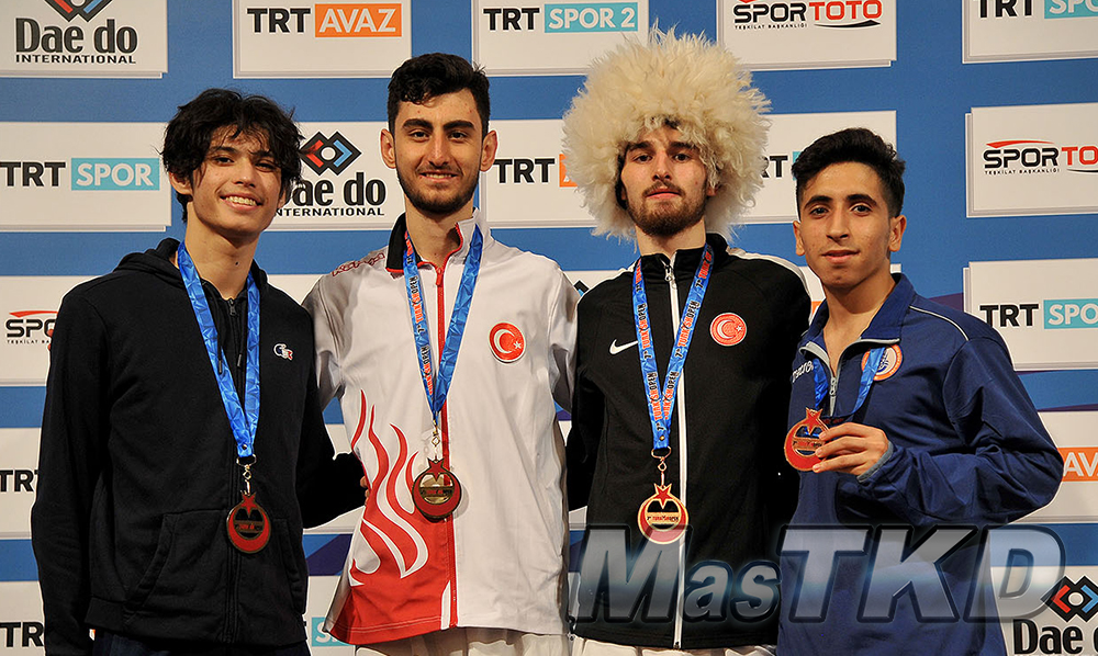 Podio-M-54_MasTKD_7th-Turkish-Open-Taekwondo-Tournament