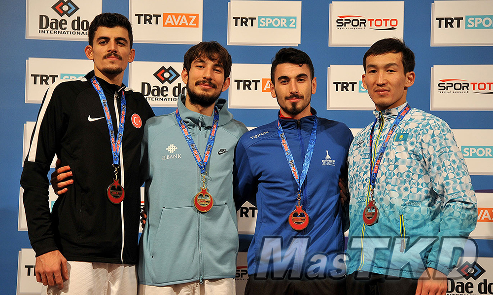 Podio-M-74_MasTKD_7th-Turkish-Open-Taekwondo-Tournament