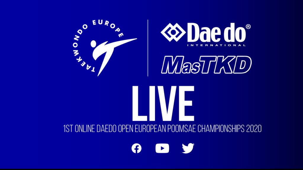 EN VIVO (Día 6) 1st. Online European Poomsae Championships
