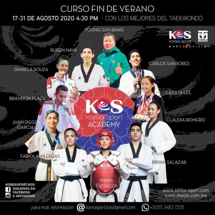 """Curso Fin de Verano """"Taekwondo KOS-MOOTO 2020"""""""
