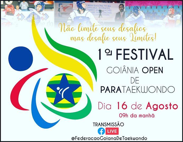 FGTKD realiza evento de Para-Taekwondo Virtual neste Final de Semana