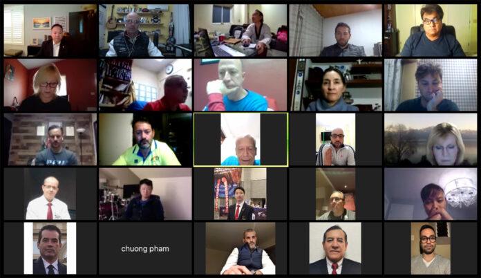 Presidente interino se reunió con encargados de comités de WTPA