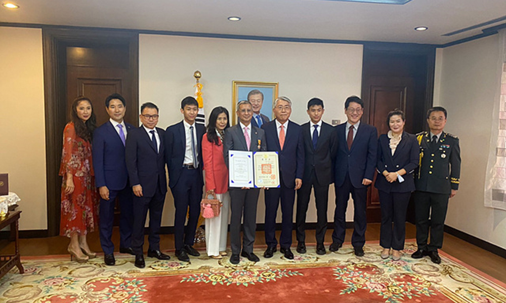 WT Council Member awarded Order of Sports Merit Award from Korean government