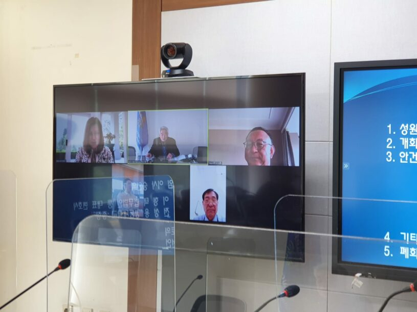 GCS International Holds Extraordinary Board Meeting at GCS HQs