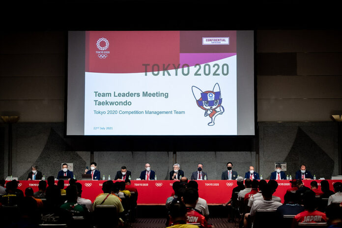 Competition Draw and Team Leaders Meeting held ahead of Tokyo 2020