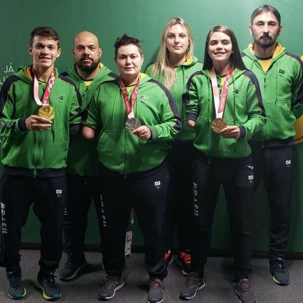 Parataekwondo do Brasil termina na primeira colocação em Tóquio e comissão técnica comemora o trabalho em equipe