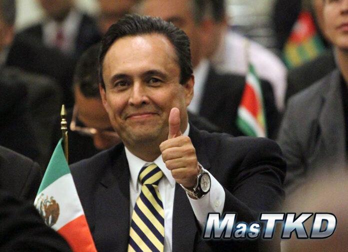 Juan Manuel López Delgado es el nuevo Presidente de la Unión Panamericana de Taekwondo