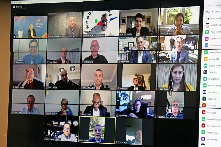 World Taekwondo Council meets online ahead of virtual General Assembly