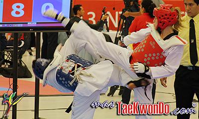 Imágenes del Pan Americano Abierto 2013 Internacional de Taekwondo, que se lleva a cabo en el Centro de Congresos de la ciudad de Querétaro, México.
