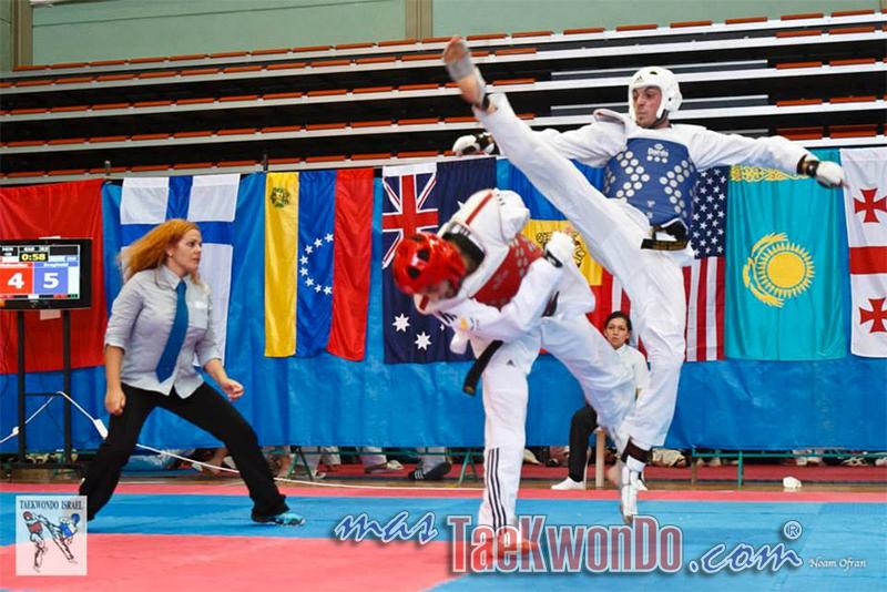 Silver medal Ilan Barginski in the 68 kg