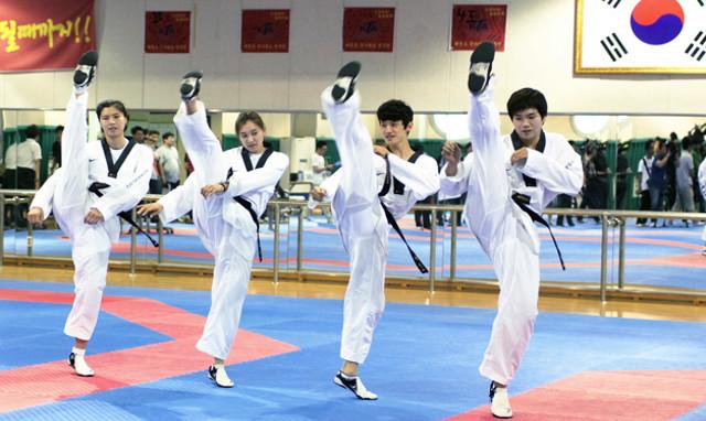 El presidente de la WTF, Dr. Choue dice que para que el Taekwondo sea más llamativo para la audiencia global, debería tomar como modelo el voleibol de playa, que según el, dicho deporte es mucho más que solo tirar pelotas de una dirección a otra.