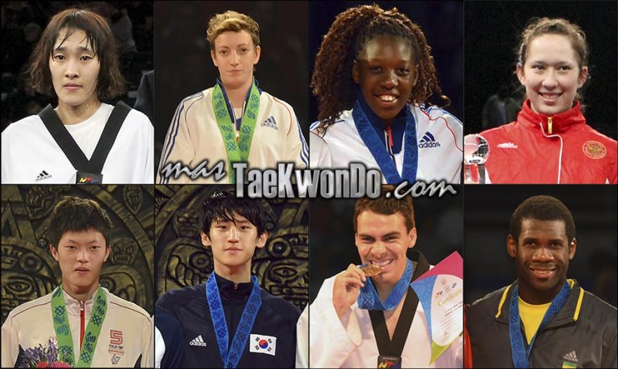 Los dieciséis mejores renqueados del mundo de cada categoría olímpica (-49, -57, -67 y +67 Kg. femenino; -58, -68, -80 y +80 Kg. masculino) correspondientes al mes de Febrero del 2014 según lo reflejado por la World Taekwondo Federation (WTF).