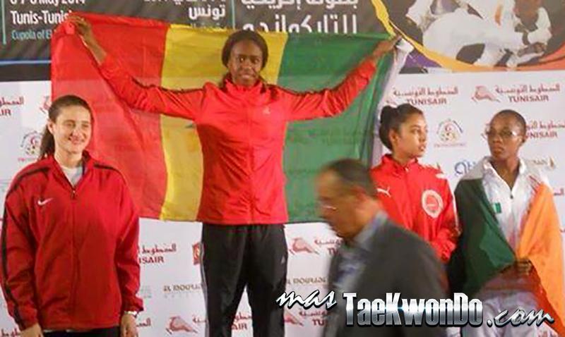 Resultados completos del Campeonato Africano Senior de Taekwondo que se desarrolló el 6, 7 y 8 de Mayo en la ciudad de Tunis, Túnez, y cuyo Ranking corresponde a la categoría G-4 para WTF.
