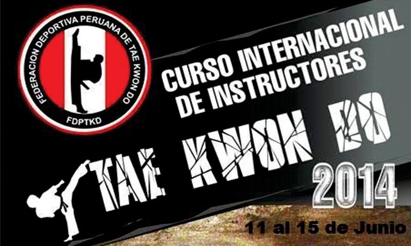 Del 11 al 15 de junio próximo se desarrollará el Curso Internacional de Instructores 2014, el cual va a ser dictado por cuatro maestros de Kukkiwon.