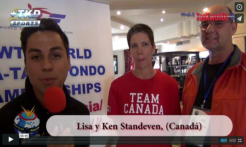 Entrevista a Lisa y Ken Standeven de Canadá