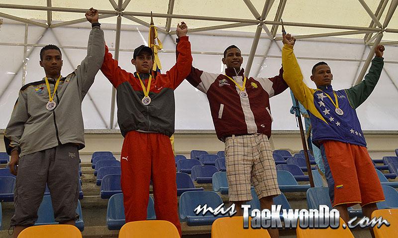 I Válida Nacional de Taekwondo Barinas 2014 - Podio