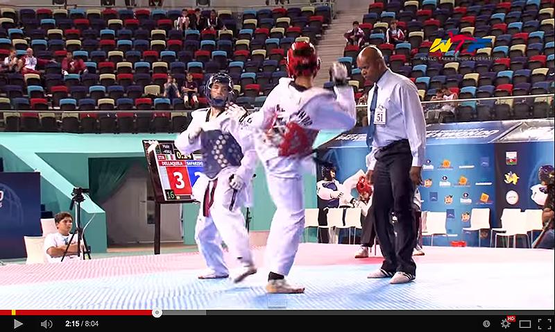 Videos Finales D2, 1st WTF World Cadet Taekwondo Championships