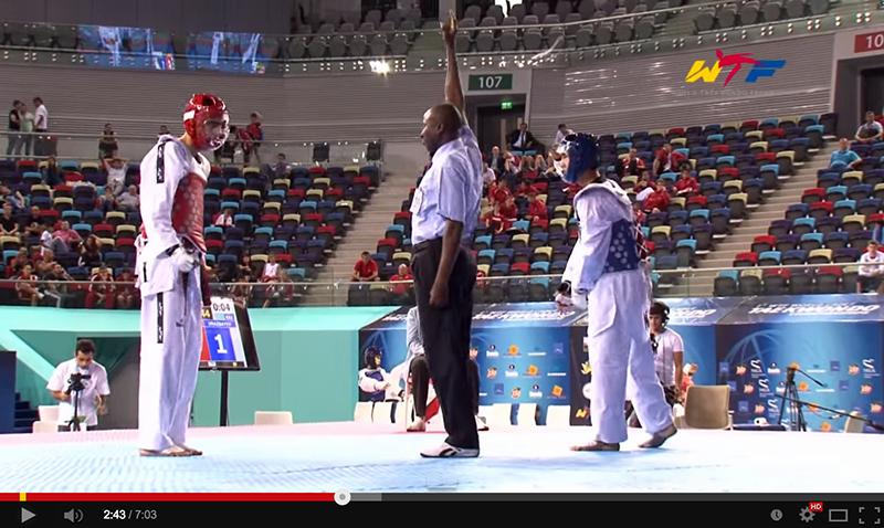 Videos del World Cadet Taekwondo Championships