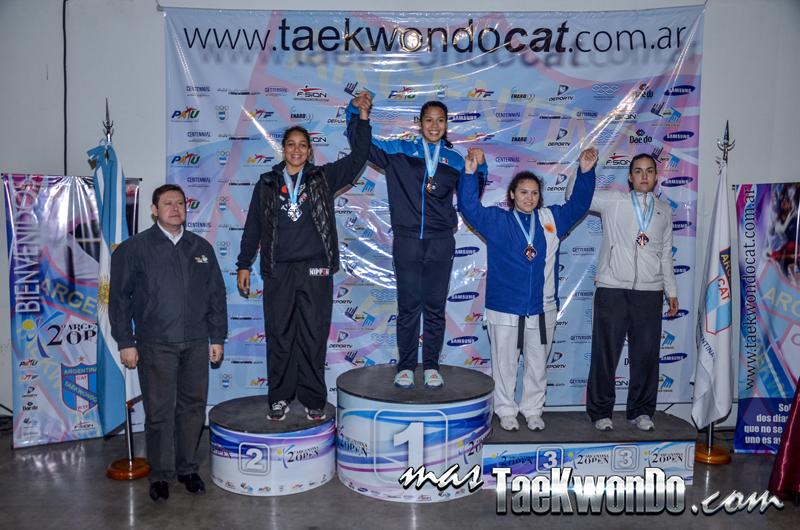 Argentina Open 2014, Podio G1 F+73