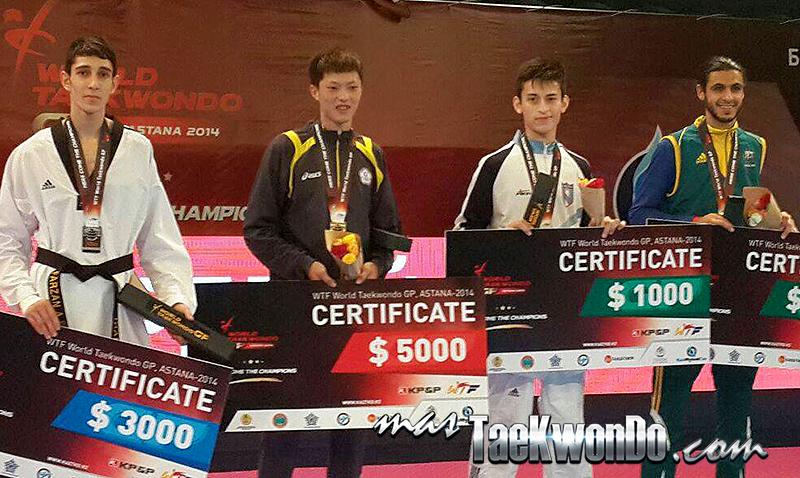 GP Series Astana 2014, Podio M-58
