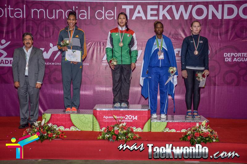 Podio Panamericano G4 D3, HEAVY Femenino +73 Kg.